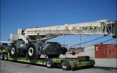 Heavy Crane Transport